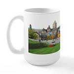 Old Quebec Panoramic View Large Mug
