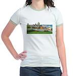 Old Quebec Panoramic View Jr. Ringer T-Shirt