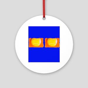 Tennis Cobalt Blue for Leonard Ornament (Round)