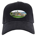 Old Quebec Panoramic View Black Cap