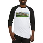 Old Quebec Panoramic View Baseball Jersey