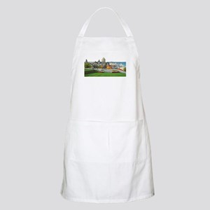 Old Quebec Panoramic View BBQ Apron