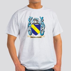 Brunelleschi Coat of Arms - Family Crest T-Shirt