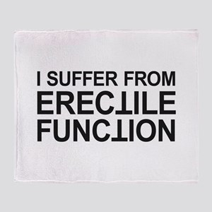 Erectile Function Throw Blanket