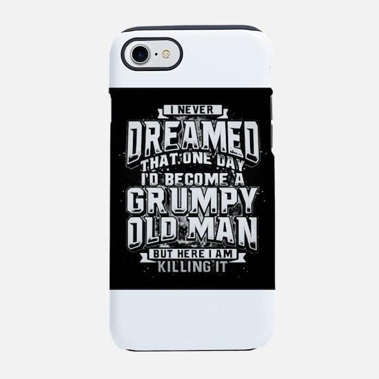 Grumpy old man iPhone 8/7 Tough Case