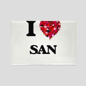 I love San Magnets