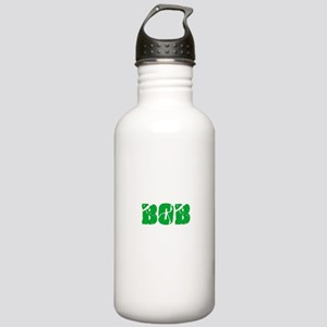 Bob Name Weathered Gre Stainless Water Bottle 1.0L