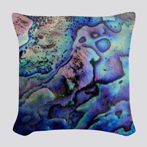 Abalone Woven Throw Pillow
