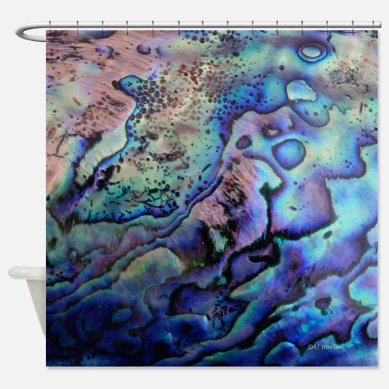 Abalone Shower Curtain