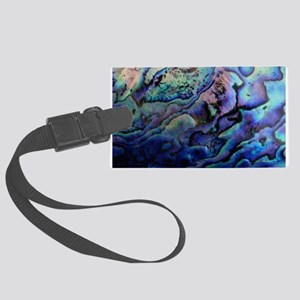 Abalone Large Luggage Tag