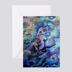 Abalone Greeting Cards