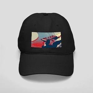 vintage retro record player Black Cap