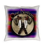One Nation, Indian Everyday Pillow