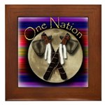 One Nation, Indian Framed Tile