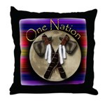 One Nation, Indian Throw Pillow