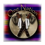 One Nation, Indian Tile Coaster