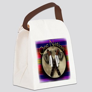 One Nation, Indian Canvas Lunch Bag