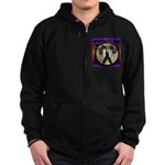 One Nation, Indian Zip Hoodie (dark)