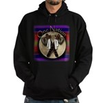 One Nation, Indian Hoodie (dark)