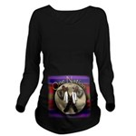 One Nation, Indian Long Sleeve Maternity T-Shirt
