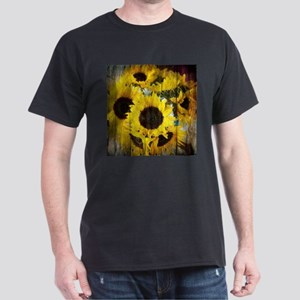 western country yellow sunflower T-Shirt