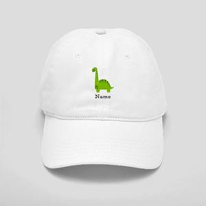 Green Dinosaur (p) Baseball Cap