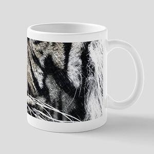 starring night white tiger Mugs