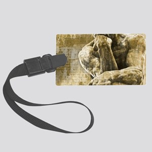 Impressionism sculpture The Thin Large Luggage Tag