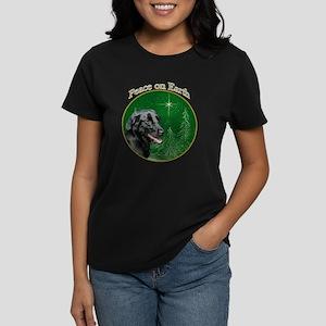 Flat-Coat Peace Women's Dark T-Shirt
