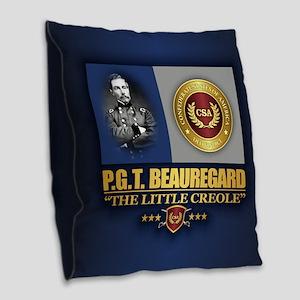 Beauregard C2 Burlap Throw Pillow