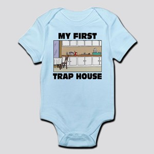 My First Trap house Body Suit