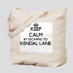 Keep calm by escaping to Kendal Lane Mass Tote Bag