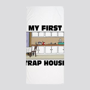 My First Trap house Beach Towel