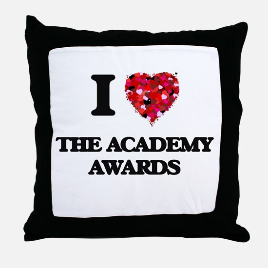 I love The Academy Awards Throw Pillow