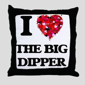 I love The Big Dipper Throw Pillow