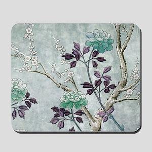 Asian Flowers Mousepad