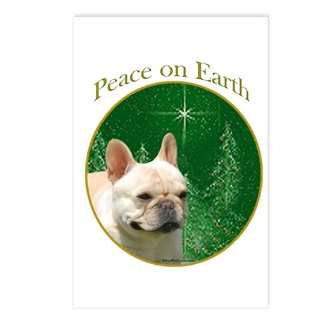 Frenchie Peace Postcards (Package of 8)