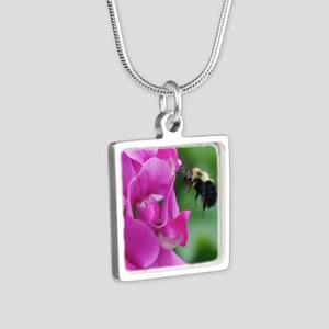 Sweet Pea with Bee Necklaces