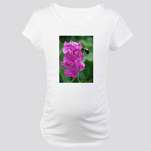 Sweet Pea with Bee Maternity T-Shirt