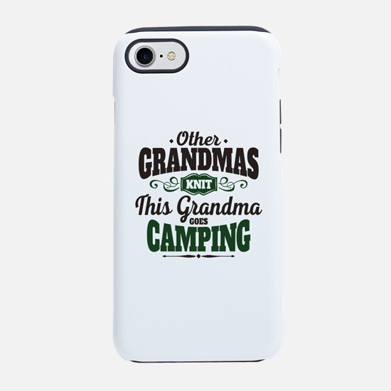 Camping Grandma iPhone 8/7 Tough Case