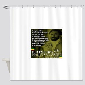 HIM Emperor Haile Selassie I Shower Curtain
