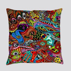 Abstract Painting Everyday Pillow