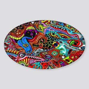Abstract Painting Sticker