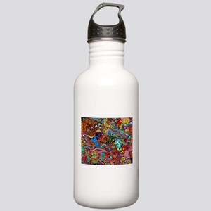 Abstract Painting Sports Water Bottle