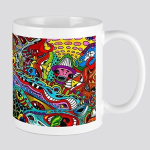 Abstract Painting Mugs