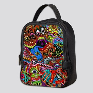 Abstract Painting Neoprene Lunch Bag