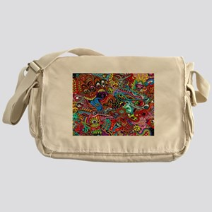 Abstract Painting Messenger Bag