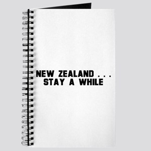 New Zealand . . . Stay a Whil Journal