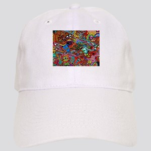 Abstract Painting Cap