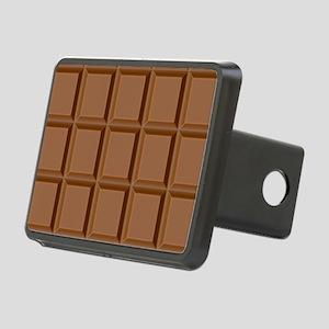 Chocolate Tiles Rectangular Hitch Cover